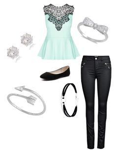 """""""Arrow"""" by ajoytalladira on Polyvore featuring City Chic, Verali, Lulu*s, Midsummer Star and River Island"""