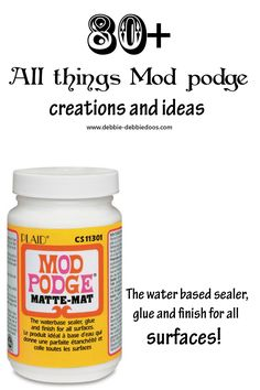 All things #Modpodge. MY 80+ gallery of creations and ideas of my own.