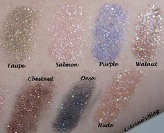 NYX Roll On Shimmer Eye Shadow Swatches  (Citrines Blog)