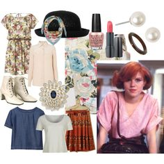 Molly Ringwald Style. My new obssesion.