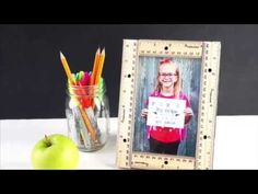 Video Tutorial: First Day of School Printable and Ruler Frame