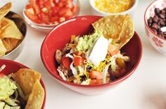 Quick and Easy Healthy Dinners ~ Burrito Bowls