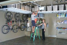 garage overhead storage racks - Garage Overhead Storage Ideas to Maximize Space – MAP OMATIC