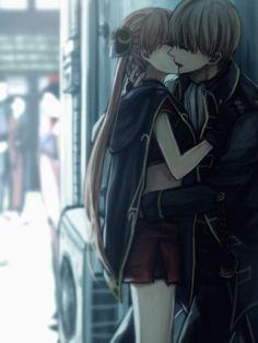 """すずき trên Twitter: """"2016沖神… """" Cute Couple Art, Anime Love Couple, Cute Couples, Anime Couples Manga, Manga Anime, Okikagu Doujinshi, Gintama, Cute Anime Coupes, Manga Love"""