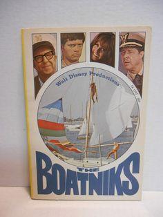 "Walt Disney Productions ""The Boatniks"" 1970 Paperback ~ VINTAGE"