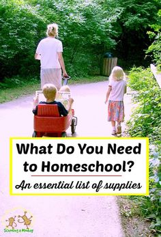 What do you really need to homeschool? Find out in this list of the most essential supplies for homeschooling every subject from Schooling a Monkey.