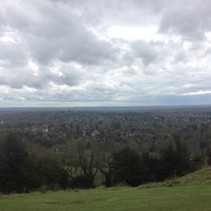 Looking South from Reigate Hill, Surrey