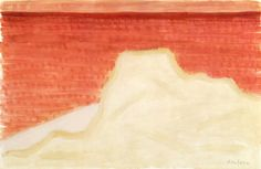 Intercepted by Gravitation   dappledwithshadow:   Red Sea, Milton Avery  1960