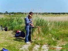 Aquarell malen an der Ostsee | Malkurs mit Frank Koebsch – im Hafen von Groß Zicker 3 (c) Carola Peters #wirsindinsel! #rügen