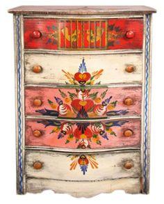 My grandma had a house full of Peter Hunt furniture. I love it!