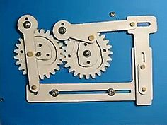 Science Time - Gears And Lever Systems Mechanical Power, Mechanical Design, Mechanical Engineering, Robotic Automation, Wooden Gears, 3d Cad Models, Geek Tech, Denim Crafts, Kinetic Art