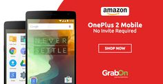 Get One Plus 2 Without Any Invite. #Amazon Offers OnePlus2 Mobiles - No Invitees Required. http://www.grabon.in/amazon-coupons/