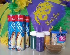 Mardi Gras Book Recipe: Easy Pillsbury Dough Sheet King Cake by Keila Dawson Mardi Gras Food, Mardi Gras Party, Holiday Treats, Holiday Recipes, King Cake Baby, King Cakes, Pillsbury Dough, Pillsbury Recipes, Mardi Gras Decorations