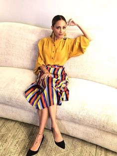 Love the color and pose For house Nicole Richie