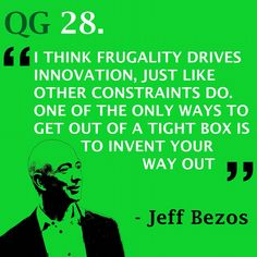 A true innovator has the potential to change the world #quote #jeffbezos