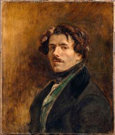 Delacroix, Self-Portrait, 1837