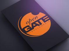OPEN GATE logo by Kris
