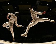 Fencing or Ballet? You decide.