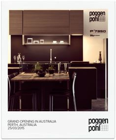 Grand Opening in Perth, Australia    #Poggenpohl #Studio #Perth #Australia