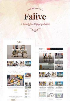 Falive - Beautiful Creative & Fashion Blog Theme | ThemeForest