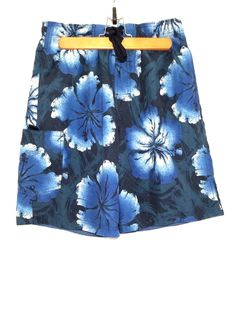 Blue Speedo Swimming Shorts Trunks Mens Sz MEDIUM #Speedo #Trunks