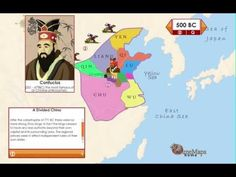 Ancient China Interactive animated history map with questions and activities from TimeMap