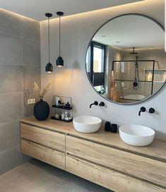 Bathroom Design Inspiration, Home Decor Inspiration, Bathroom Inspo, Cozy Bathroom, Bathroom Black, Bathroom Goals, Bathroom Design Luxury, Home Interior Design, Modern Luxury Bathroom