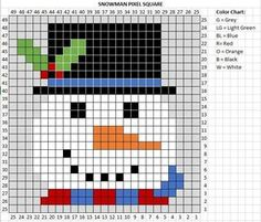 Frosty the snowman was a jolly happy soul! And he is square number 3 of my Crochet Christmas Character Afghan! If you are just joining in to this impromptu Crochet-along, that is ok! You aren't far behind. I am creating 9 Christmas themed C2C crochet squares and when they are all finished, I will stitch …