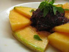 Blueberry Basil Sorbet