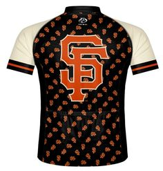 San Francisco Giants Cycling Jersey - Even more Christmas Cycling Ideas at cyclegarb.com