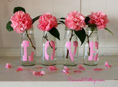 Pink Love Vases :: Hometalk