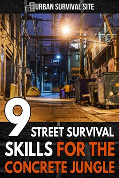 The survival skills necessary to navigate a city during a disaster are quite different from the skills many preppers may be accustomed to. Urban Survival, Survival Food, Survival Tips, Survival Skills, Disaster Preparedness, Concrete Jungle, Shtf, Street, Board