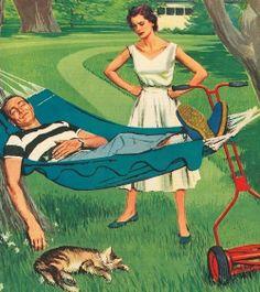 Deadbeat Dad ~ ca. 1950s