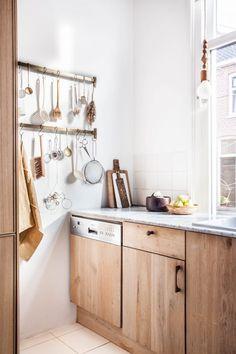Cuisine Ikea x chêne Holly Avenue Lifestyle via Nat et nature