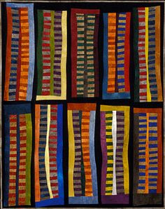 "image of quilt titled ""And All That Jazz"" by Janet Steadman © 2006"