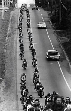 """""""Joining a band of brothers together, a group with one common interest or mission, whether as a company, a team, or a motorcycle club, requires not only a commitment to loyalty but an understanding of self-preservation as well."""" - Sonny Barger"""