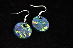 fimo's earrings - orecchini in fimo. 100% HaNdMaDe by Myle's Creations