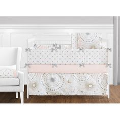 Sweet Jojo Designs Celestial 9 Piece Crib Bedding Set