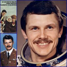 Bertalan Farkas, Hungary's first astronaut ~ 1980 Ukraine, Heart Of Europe, Celebrity Gallery, Central Europe, Space Travel, Male Face, Fulton, Famous People, Budapest