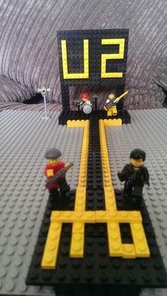 U2 lego by my 5 year old.