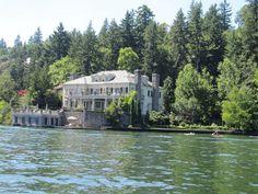 We call this the villa. I love this house. Lake Oswego, Oregon.