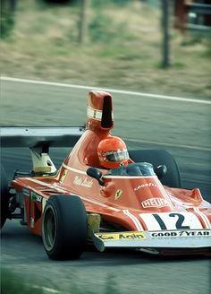 Niki Lauda , Ferrari 312T . Anderstorp 1975