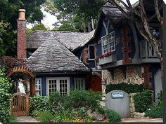 storybook style home