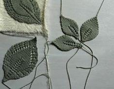 Comment tricoter en point de feuilles ajourées