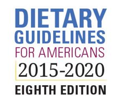Previous dietary guidelines focused on individual food groups and nutrients, whereas this year's moves to a more individually tailored food pattern approach.