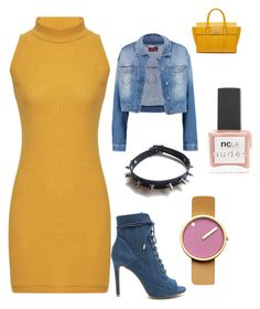 """""""Pandora"""" by pandoracorreia on Polyvore featuring 7 For All Mankind, WithChic, Rosendahl, Mulberry and ncLA"""