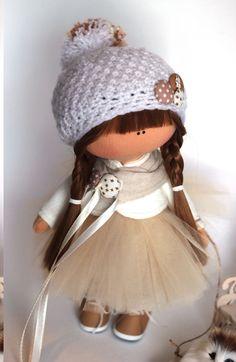 Tilda la muñeca tela muñeca decoración muñeca muñeca hecha a