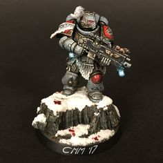Games Workshop Warhammer 40k Space Marines Sergent veteran Plasma Pistol bras