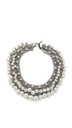 Venessa Arizaga Pearly Sands Necklace    $275
