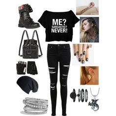 Girl version of Fang from Maximum Ride by athenamrd on Polyvore featuring polyvore, fashion, style, Miss Selfridge, DailyLook, FOSSIL, David Yurman, Anne Klein, Majesty Black, Free People and alfa.K
